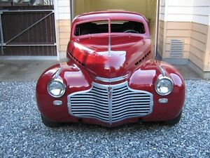 1941 Chevy chopped coupe