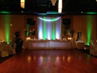 Professional DJ Service and Up Lighting with djk Music Services