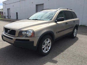 2004 VOLVO XC 90 T6 AWD NOUVEAU TIMING BELT