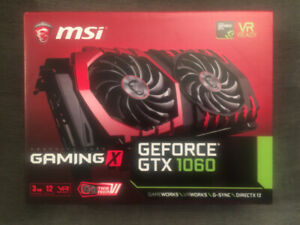 GTX 1060 3 GB - MSI Gaming X
