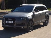 CHEAPEST ONLINE 2007 AUDI Q7 S LINE QUATTRO TDI FULLY LOADED HPI CLEAR PRIVATE PLATE MUST SEE
