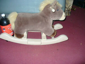 small children's rocking horse