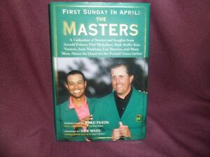 First Sunday of April The masters