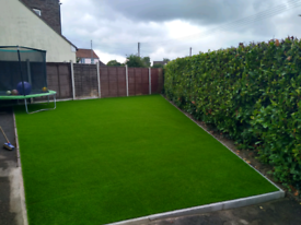Eden artificial grass - purchased from Tiger Turf