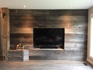 Barnboard feature walls and reclaimed furniture Kitchener / Waterloo Kitchener Area image 1