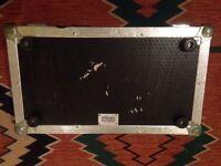 Flightcase warehouse pedal board