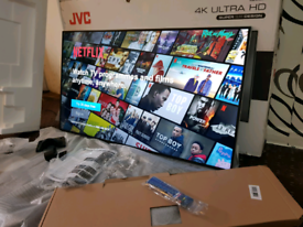 "TV 49"" SUPER SLIM DESIGN 2019 SMART WI-FI 4K ULTRA HD HDR NEW WITH BOX"