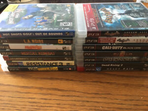 Various PS3 Games