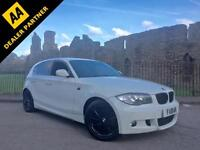 2011 BMW 120d M Sport Auto White **Stealth Pack - Full Service History**