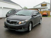 2009 Toyota Corolla XRS, 2.4L, 5 Speed.....New Mvi & Warranty!!