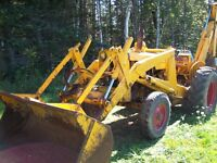 1970 case 580 backhoe