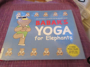 Babar's Yoga  for Elephants - Book plus poster...lots of fun....