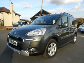 2013 Peugeot Partner 1.6 HDi 115bhp Tepee Outdoor Diesel MPV * Only 51K Miles *