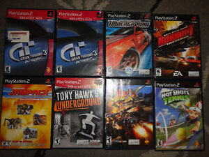 75 Playstation 2 Games: $2.00 each or Buy All for $75
