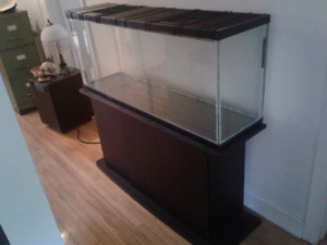 Aquarium with stand and accessories $200.00