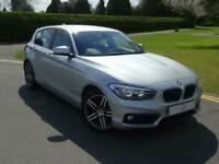 2017 BMW 1 Series 118d Sport 5dr [Nav] Step Auto HATCHBACK Diesel Automatic