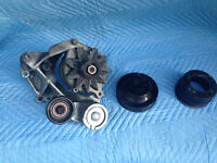 Alternator with under drive pulleys for Ford Mustang