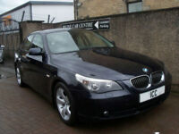 07 07 BMW 523i SPORT SE 2.5 AUTO 4DR 1 OWNER LOW MILEAGE FULL LEATHER F.S.H A/C