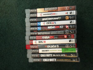 PS3/Playstation Games For Sale Kitchener / Waterloo Kitchener Area image 1