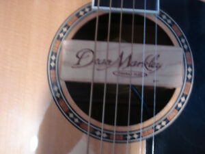 WASHBURN ACOUSTIC GUITAR WITH PICK UP, TUNER & STRAP. In Legal