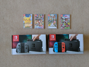 Brand New Unopened Nintendo switch and games