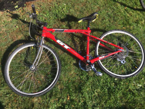 """Red GT Mtn bike - small (though it says """"M"""")"""