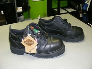 Harley-Davidson - Safety Shoes - Size 7 - NEW at RE-GEAR Kingston Kingston Area image 2