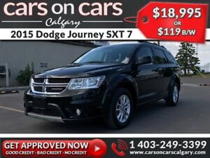 2015 Dodge Journey SXT 7 Pass $119B/W INSTANT APPROVAL, DRIVE HO