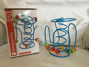 Hape baby toy as new with box.