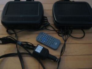 Dual  Venturer DVD players for vehicle