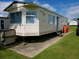Caravan for hire holiday home
