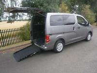 2011 Nissan NV200 1.5 dCi 89 SE 6dr WHEELCHAIR ACCESSIBLE VEHICLE 6 door Whee...