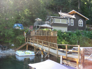 Anderson Lake BC cottage for sale by owner....Real Estate