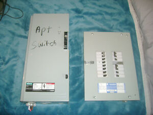 100A Service Entrance Switch/100A Commander Panel with breakers St. John's Newfoundland image 2