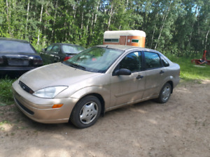2000 ford focus low kms
