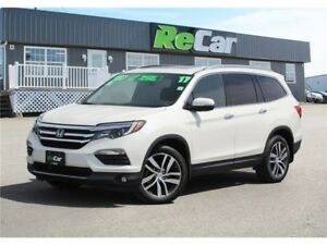 2017 Honda Pilot Touring 7-SEATER | HEATED/COOLED LEATHER