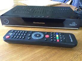 Manhatten freesat+HD Plaza HDR-S 500 GB box