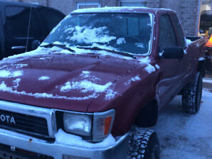 MINT CONDITION 1994 TOYOTA PICK UP TRUCK 22RE ....5500.00  OBO