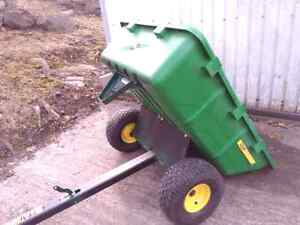 John Deere riding mower trailer