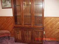 China Cabinet with buffet
