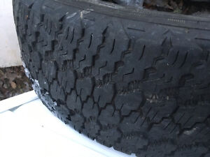 One 20 inch tire.
