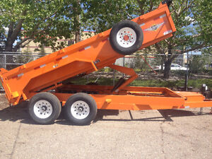 Rent a Dump Trailer FROM $ 100.00 per day.