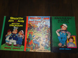 Vintage Raggedy Ann And Andy books