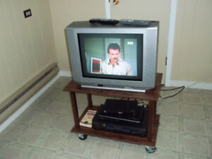 Television with accessories