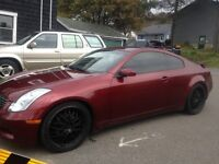 Infinity G35 Coupe 20's