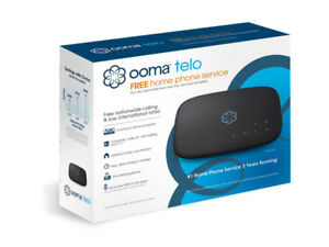 Ooma Telo and Vtech Cordless Phone (2 hand sets)