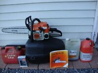 STIHL CHAINSAW MS 170- PACKAGE DEAL