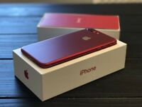 Apple iPhone 7 RED - 128gb - 9 Months Warrenty