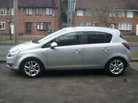 2009 Vauxhall Corsa 1.4i 16v a/c SXi 5DR 59 REG Petrol Silver