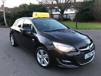 Vauxhall Astra SRi 1.4i 16v VVT (100PS) (black) 2012